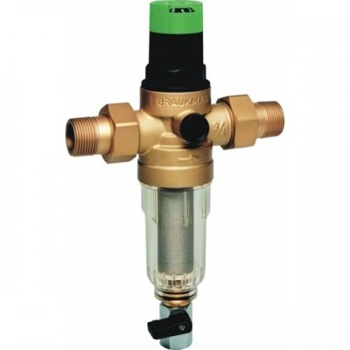 Сетчатый фильтр механической очистки HONEYWELL FK06 1/2AA с регулятором давления